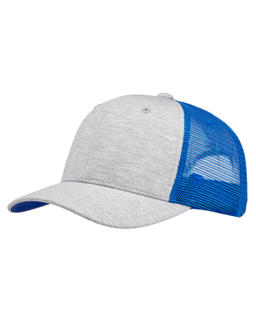 Top Of The World Cutter Jersey Snapback Trucker Hat - Royal