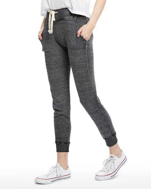 US Blanks Ladies' Burnout Leisure Pant - Tri Grey