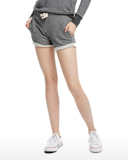 US Blanks Ladies' Casual French Terry Short - Tri Grey