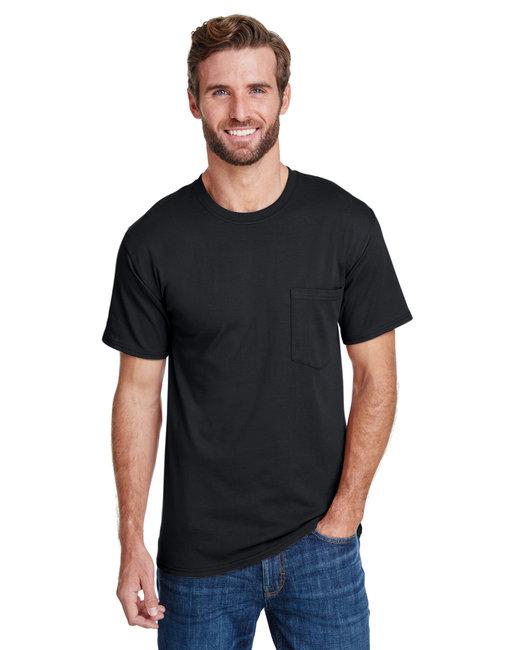 Hanes Adult Workwear Pocket T-Shirt - Black