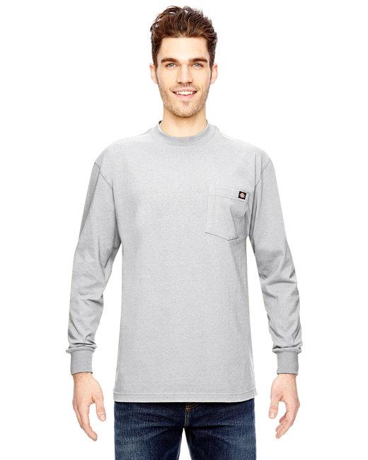 Dickies Men's 6.75 oz. Heavyweight Work�Long-Sleeve T-Shirt - White