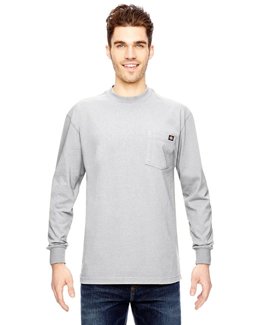 Dickies Men's 6.75 oz. Heavyweight Work�Long-Sleeve T-Shirt - White