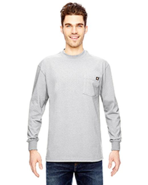 Dickies Men's Tall 6.75 oz. Heavyweight Work Long-Sleeve T-Shirt - White