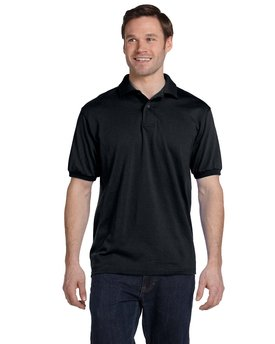 054 Hanes Adult 5.2 oz., 50/50 EcoSmart® Jersey Knit Polo