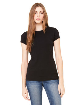 1001 Bella + Canvas Ladies' Baby Rib Short-Sleeve T-Shirt