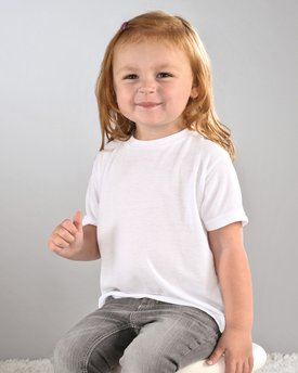 1310 SubliVie Drop Ship Toddler Sublimation Polyester T-Shirt