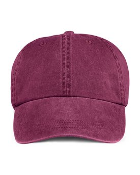 145 Anvil Adult Solid Low-Profile Pigment-Dyed Cap