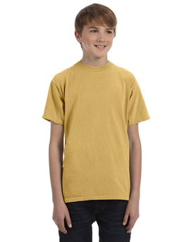 1969Y Authentic Pigment Youth 5.6 oz. Pigment-Dyed & Direct-Dyed Ringspun T-Shirt