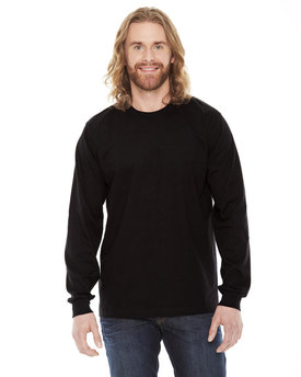 2007W American Apparel Unisex Fine Jersey Long-Sleeve T-Shirt