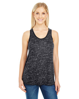 204FR Threadfast Apparel Ladies' Blizzard Jersey Racer Tank