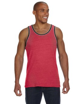 22060E1 Alternative Men's Double Ringer Eco-Jersey Tank