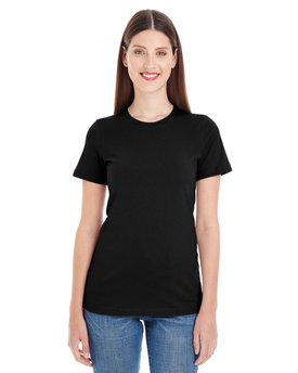 23215OR American Apparel Drop Ship Ladies' Organic Fine Jersey Classic T-Shirt