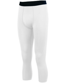 2619 Augusta Drop Ship Youth Hyperform Compression Calf Length Tight