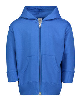 3446 Rabbit Skins Drop Ship Infant Zip Fleece Hoodie