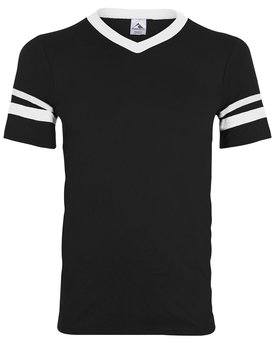 361 Augusta Drop Ship Youth Sleeve Stripe Jersey