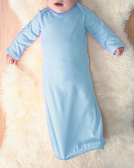 4406 Rabbit Skins Drop Ship Infant Baby Rib Layette
