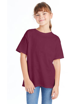 5480 Hanes Youth 5.2 oz. ComfortSoft® Cotton T-Shirt