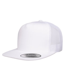 6006 Yupoong Adult 5 -Panel Classic Trucker Cap