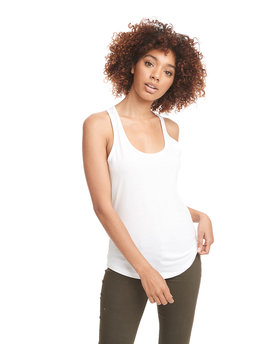 6338 Next Level Ladies' Gathered Racerback Tank