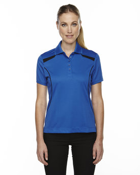 75112 EXTREME Ladies' Eperformance™' Tempo Recycled Polyester Performance Textured Polo