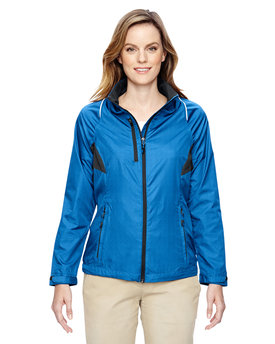 78200 NORTH Ladies' Sustain Lightweight Recycled Polyester Dobby Jacket with Print