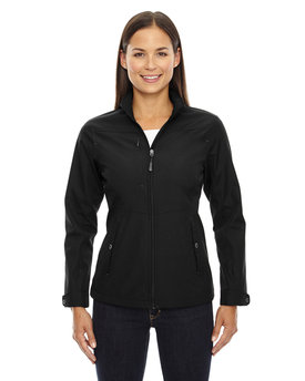 78212 North End Ladies' Forecast Three-Layer Light Bonded Travel Soft Shell Jacket
