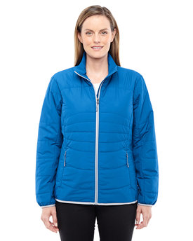78231 NORTH Ladies' Resolve Interactive Insulated Packable Jacket