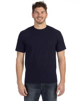 783AN Anvil Adult Midweight Pocket T-Shirt
