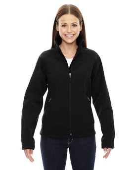 78604 NORTH Ladies' Three-Layer Light Bonded Soft Shell Jacket