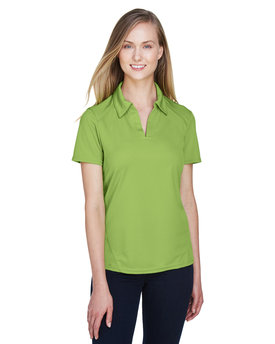 78632 Ash City - North End Sport Red Ladies' Recycled Polyester Performance Piqué Polo