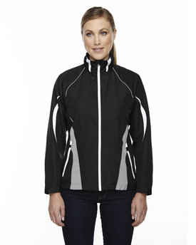78644 North End Ladies' Impact Active Lite Colorblock Jacket