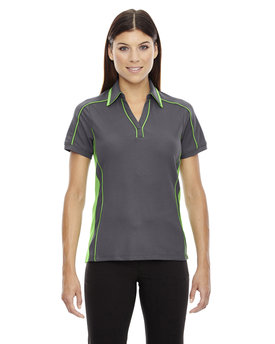 78648 NORTH Ladies' Sonic Performance Polyester Piqué Polo