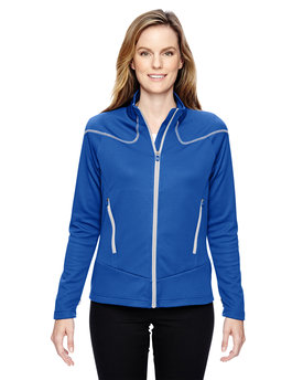 78806 NORTH Ladies' Cadence Interactive Two-Tone Brush Back Jacket
