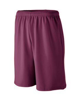802 Augusta Drop Ship Long Length Wicking Mesh Athletic Short
