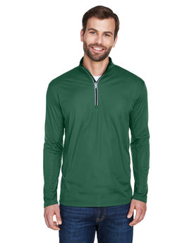 8230 UltraClub Men's Cool & Dry Sport Quarter-Zip Pullover