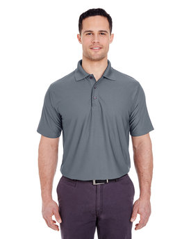 8250 UltraClub Men's Cool & Dry Box Jacquard Performance Polo
