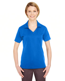 8320L UltraClub Ladies' Platinum Performance Jacquard Polo with TempControl Technology