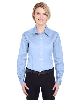8381 UltraClub Ladies' Non-Iron Pinpoint
