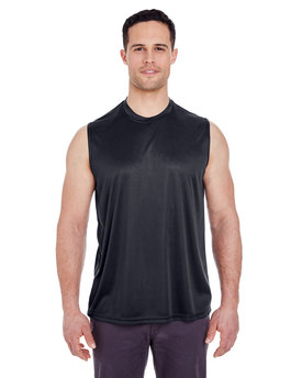 8419 UltraClub Adult Cool & Dry Sport Performance Interlock Sleeveless T-Shirt