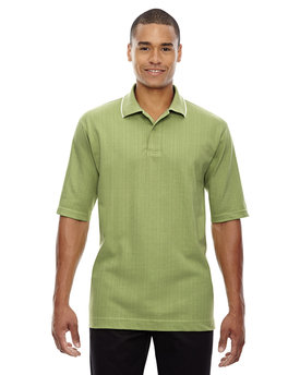 85067 Ash City - Extreme Men's Edry® Needle-Out Interlock Polo