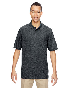 85121 NORTH Men's Excursion Nomad Performance Waffle Polo