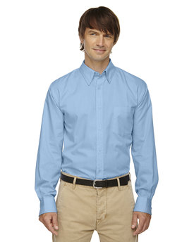 87036 Ash City - North End Men's Yarn-Dyed Wrinkle-Resistant Dobby Shirt