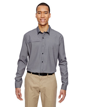 87046 NORTH Men's Excursion F.B.C. Textured Performance Shirt