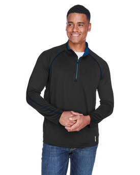 88187 Ash City - North End Men's Radar Quarter-Zip Performance Long-Sleeve Top