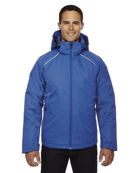 88197 Ash City - North End Men's Linear Insulated Jacket with Print