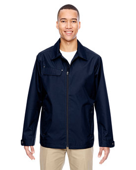 88218 NORTH Men's Excursion Ambassador Lightweight Jacket with Fold Down Collar