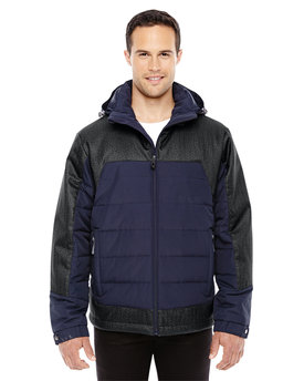 88232 NORTH Men's Excursion Meridian Insulated Jacket with Mélange Print