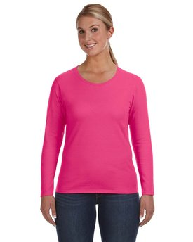 884L Anvil Ladies' Lightweight Long-Sleeve T-Shirt