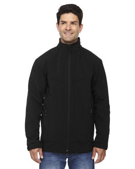 88604 Ash City - North End Men's Three-Layer Light Bonded Soft Shell Jacket