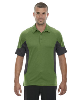 88677 NORTH Men's Refresh UTK cool?logik™ Coffee Performance Mélange Jersey Polo